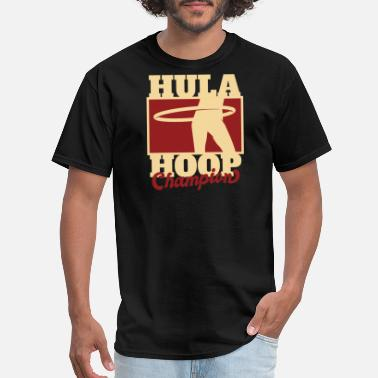 Hula Hula Hoop Champion - Men's T-Shirt