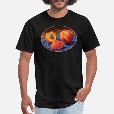 Nectarine Juicy Nectarines - Men's T-Shirt