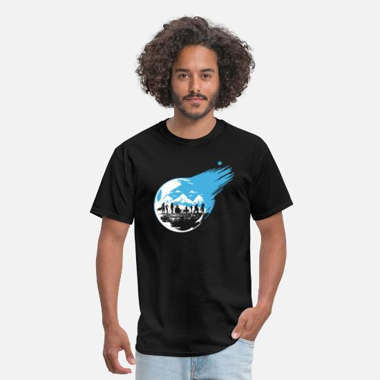 Fantasy T-Shirts - Final Fantasy 7 Inspired - Men's T-Shirt black