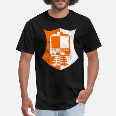 Railway Track railway tracks - Men's T-Shirt