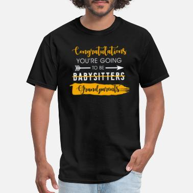 Congratulations Congratulations Grandparents - Men's T-Shirt