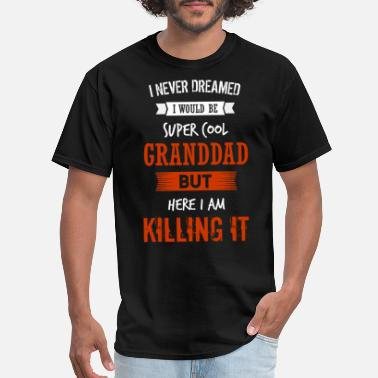 Super 6 6 GRANDDAD - Men's T-Shirt