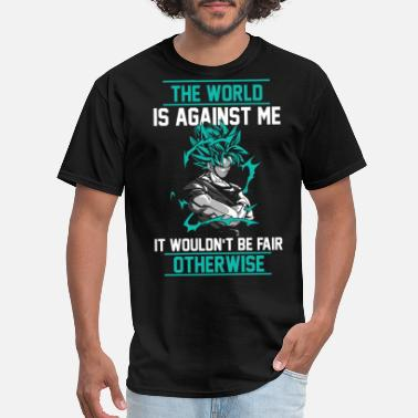 Goku Turtle Goku - The world is against me t-shirt - Men's T-Shirt
