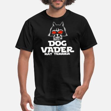 Dog Vader Dog Vader Rat Terrier - Men's T-Shirt