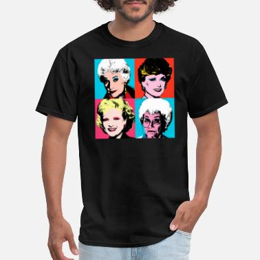 Warhol Golden Warhol Girls - Men's T-Shirt