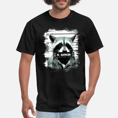 A Raccoon Dog Raccoon El Mapache Gift - Men's T-Shirt