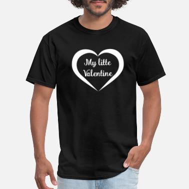 Litte Boy My litte Valentine - Men's T-Shirt