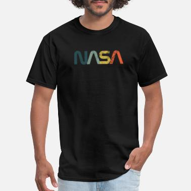 Nasa Vintage Retro NASA Logo Design USA NASA logo - Men's T-Shirt