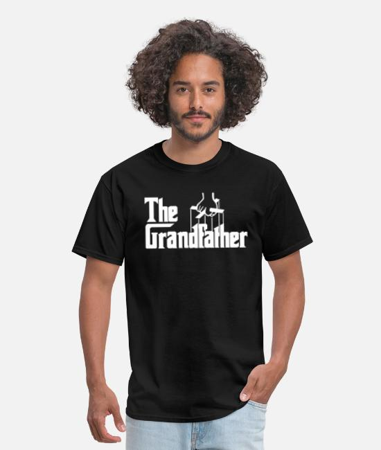 Funny Grandfather T-Shirts - The Grandfather Parody - Men's T-Shirt black