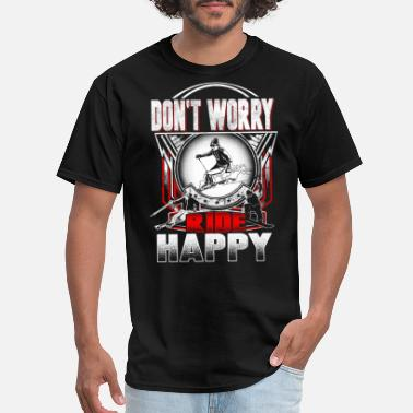 Skitour Ski happy - Men's T-Shirt