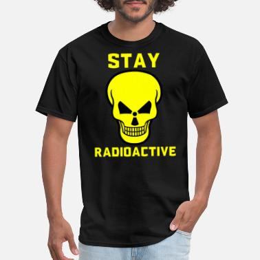 Chemistry Radioactive stay radioactive - Men's T-Shirt