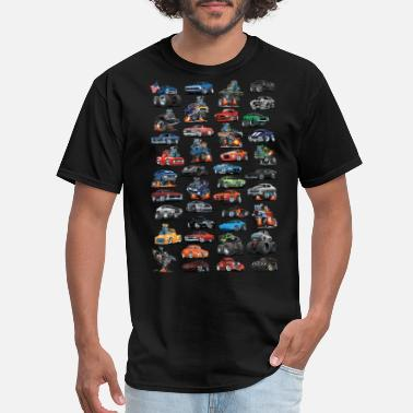 Truck American Hot Rods, Muscle Cars, Pickup Trucks - Men's T-Shirt