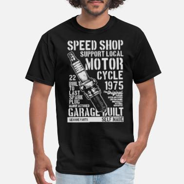 Speed Garage speed shop motor cycle garage 2 - Men's T-Shirt