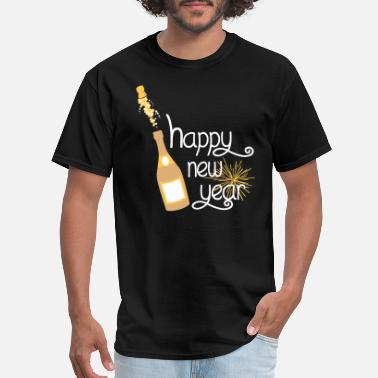 Eve Happy new year - Men's T-Shirt
