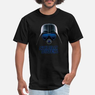 Scuba Diving DARK VADER Diving/Tauchen/busseig/Mergulho/Buceo - Men's T-Shirt