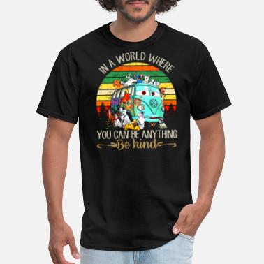 in a world where you can be anything be kind camp - Men's T-Shirt