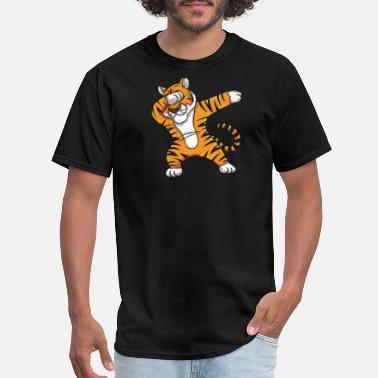 Shop Tiger Print T-Shirts online | Spreadshirt