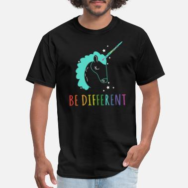 Lesbian Unicorn Be Lesbian Be Different Be Unicorn Shirts - Men's T-Shirt