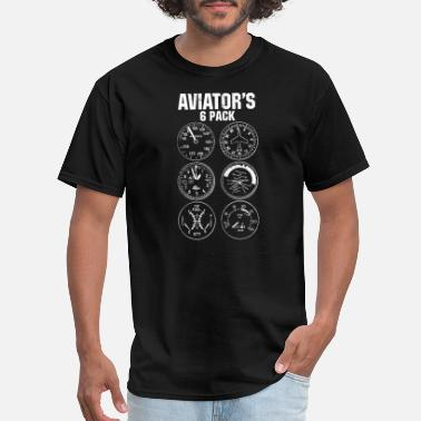 Aviation Aviator Six Pack - Men's T-Shirt