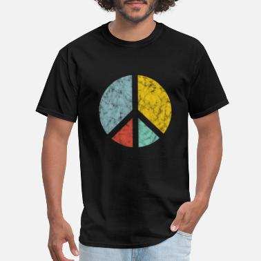 Peace Peace Symbol Retro - Men's T-Shirt