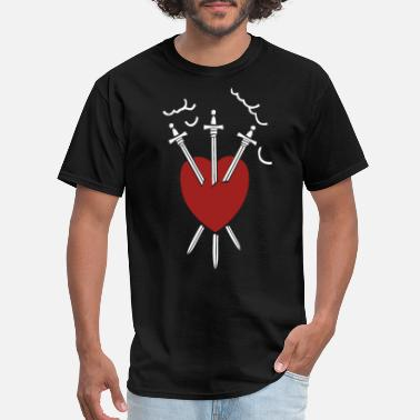 Three Of Swords Three Of Swords T Shirt - Men's T-Shirt