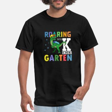 Kinders Roaring Into Kinder - Men's T-Shirt