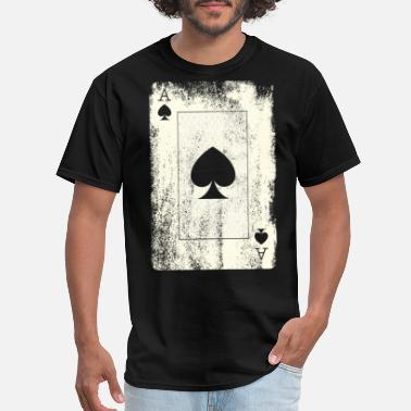 Spade Poker Ace - Men's T-Shirt