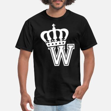 Wesley Willis Name: Letter W Character W Case W Alphabetical W - Men's T-Shirt
