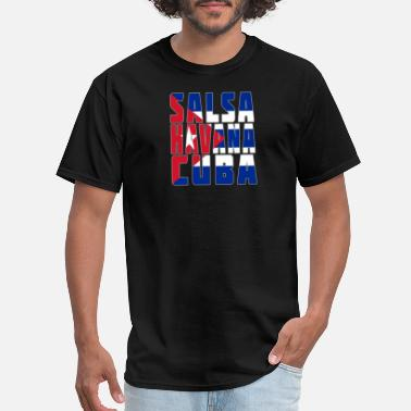 Salsa Clothing Salsa. Havana. Cuba. Salsa Dance Design - Men's T-Shirt