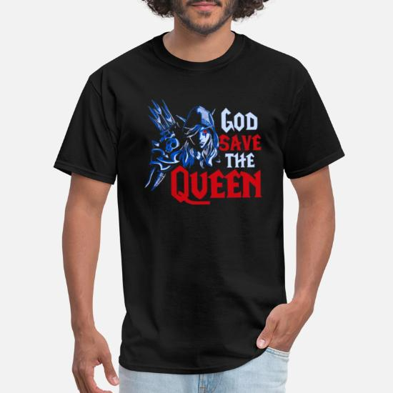 Exceed God Save The Queen Men T-Shirt Sylvanas Windrunner Wow