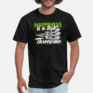 Trilogy hapiness is a tight threesome - Men's T-Shirt