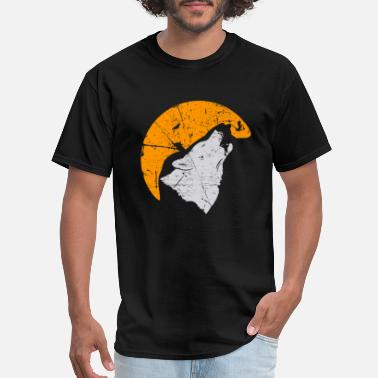 Fangs Wolf Fangs Gift for Wolf Lover - Men's T-Shirt