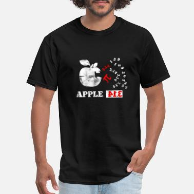 Algebra Apple Pi Pie Pun Math Nerd Algebra Pi Day - Men's T-Shirt