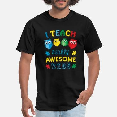 Disability Autism Teacher Autism Awareness - Men's T-Shirt