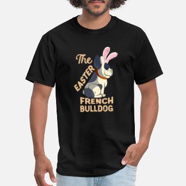 French Kids French Bulldog Easter Toddlers Dogs Kids Vintage - Men's T-Shirt