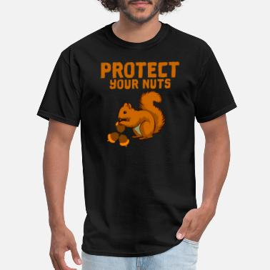Protect Protect your nuts - Men's T-Shirt