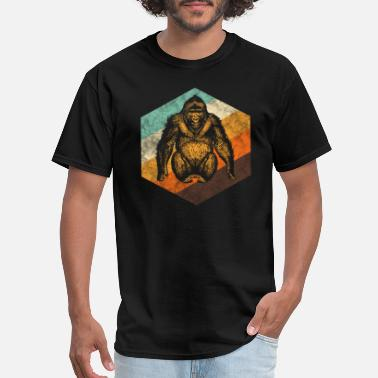 Orang Utan Orang Utan Retro Monkey - Men's T-Shirt