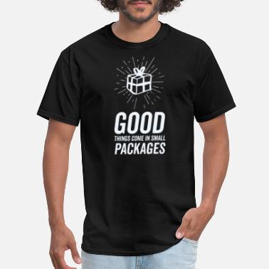 Packaging Symbols Good things come in small packages T Shirt - Men's T-Shirt