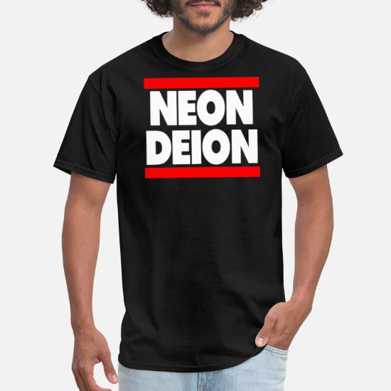 low priced f8e98 f222b Neon Deion Sanders Primetime Atlanta Sf Men's T-Shirt ...