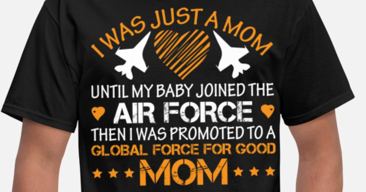 Proud air force mom! mothers day 2019 airforce mom Men's T-Shirt |  Spreadshirt