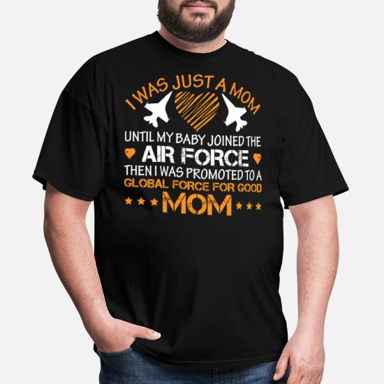 Proud air force mom! mothers day 2019 airforce mom Men's T