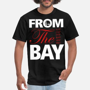 Area from_the_bay - Men's T-Shirt