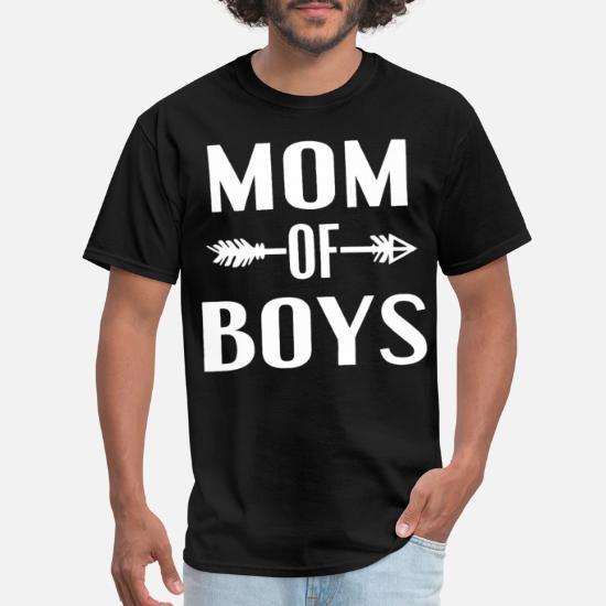 0a1cecd3 Mom Of Boys Boy Mom Life Mama of Boys mom Men's T-Shirt   Spreadshirt