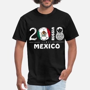 Mexico Soccer Jersey mexico - Men's T-Shirt
