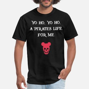 Somali Pirates Pirates Of The Caribbean Black Tank Yo Ho A Pirate - Men's T-Shirt