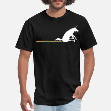 Poop Unicorn Poop - How Rainbows are Made - Men's T-Shirt