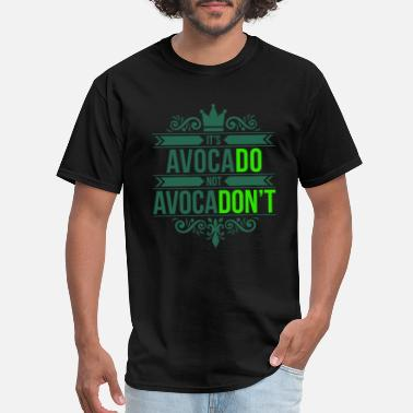 Word Salad Cool avocado saying green vegetables gift idea - Men's T-Shirt