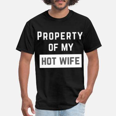 property of my hot mother t shirts - Men's T-Shirt