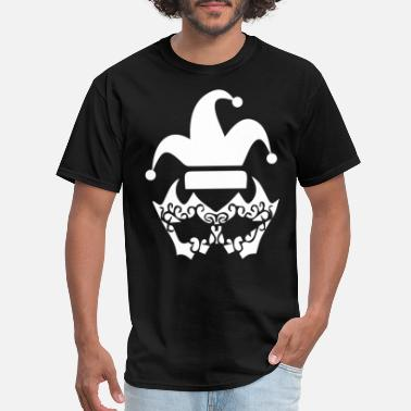 Shrovetide fool's cap medieval clown court fool cap hat - Men's T-Shirt