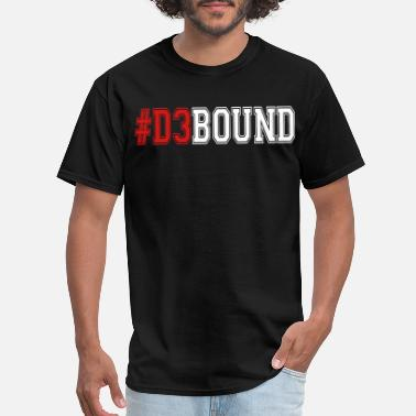 Bound #D3BOUND - Men's T-Shirt
